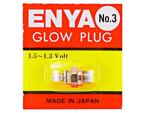 Enya #3 Standard Glow Plug (Hot)