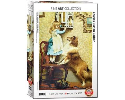 Eurographics 6000-5330 Little Girl and Her Sheltie 1000pcs