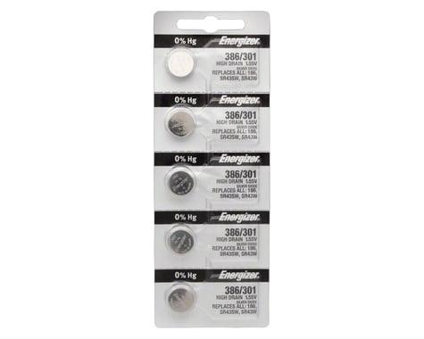 Energizer 386 / 301 Silver Oxide High-Drain Battery (LR43) (1.55v) (5)
