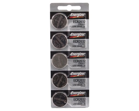 Energizer ECR2032 Lithium Battery (5 Pack)