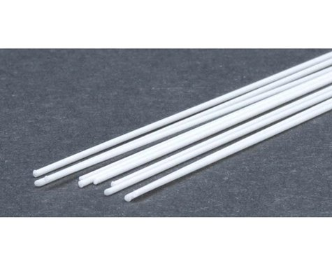"""Evergreen Scale Models Round Rod .025"""" (10)"""