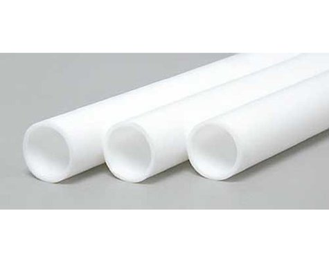 """Evergreen Scale Models Round Tubing 11/32"""" (2)"""