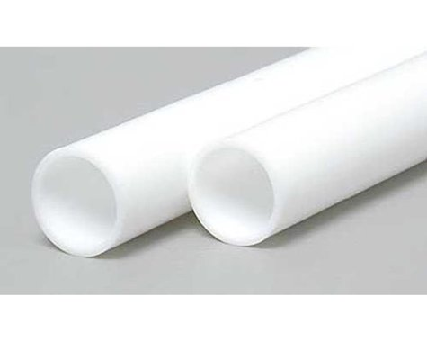 """Evergreen Scale Models Round Tubing 3/8"""" (2)"""