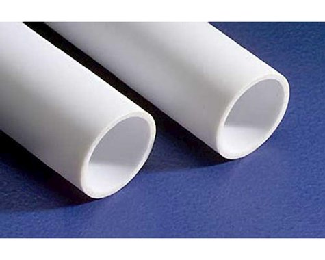 """Evergreen Scale Models Round Tubing 7/16"""" (2)"""