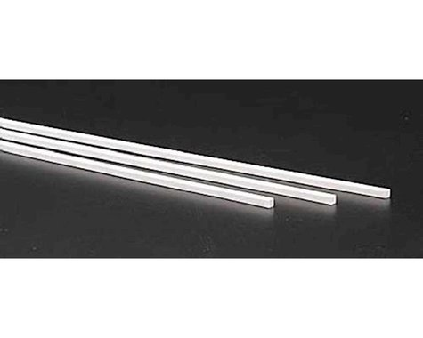 """Evergreen Scale Models Square Tubing 1/8"""" (3)"""