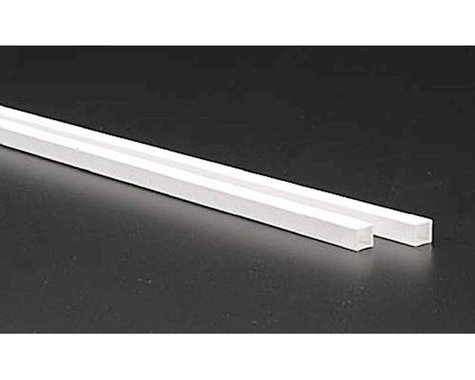 """Evergreen Scale Models Square Tubing 1/4"""" (2)"""