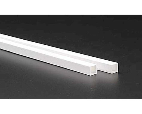 """Evergreen Scale Models Square Tubing 3/8"""" (2)"""