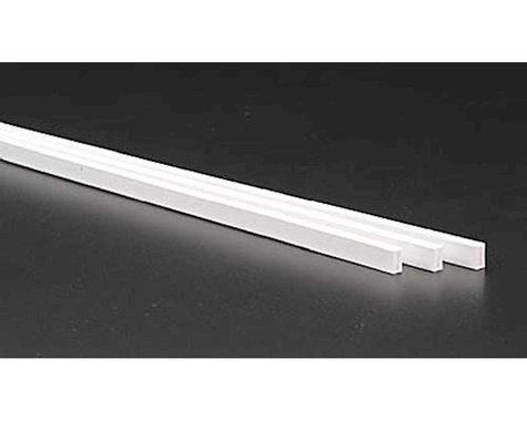 Evergreen Scale Models Rect Tubing .125 x .250 (3)