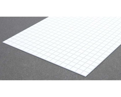 """Evergreen Scale Models Square Tile 1/3"""""""