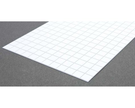 """Evergreen Scale Models Square Tile 1/2"""""""