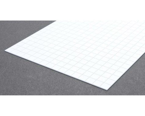 Evergreen Scale Models Sidewalk 3/8""