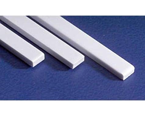 Evergreen Scale Models HO Strip 6 x 6 (10)