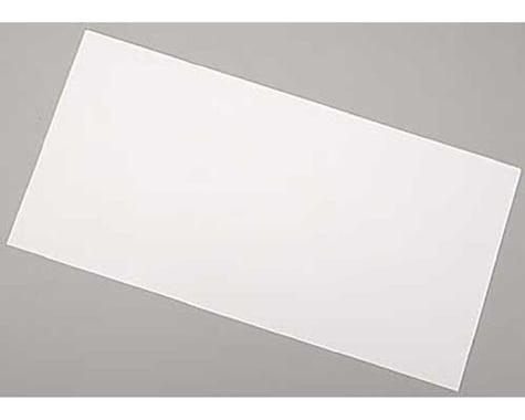 Evergreen Scale Models White Sheet .005 x 6 x 12 (3)