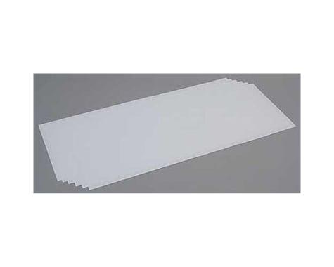 Evergreen Scale Models White Sheet .015 x 8 x 21 (6)