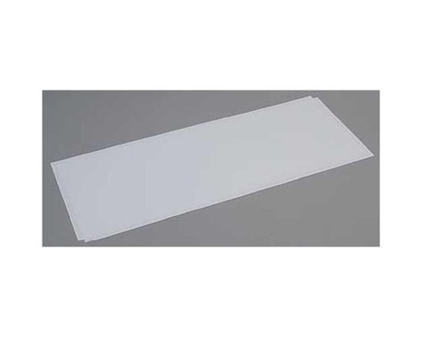 Evergreen Scale Models White Sheet .080 x 8 x 21 (2)