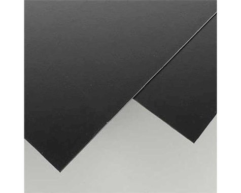 "Evergreen Scale Models Black Styrene Sheets, .06x8x21"" (2)"
