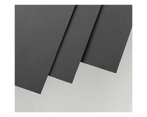 "Evergreen Scale Models Black Styrene Sheets, .01x6x12"" (4)"