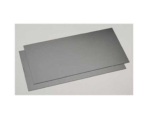 "Evergreen Scale Models Black Styrene Sheets, .03x6x12"" (2)"