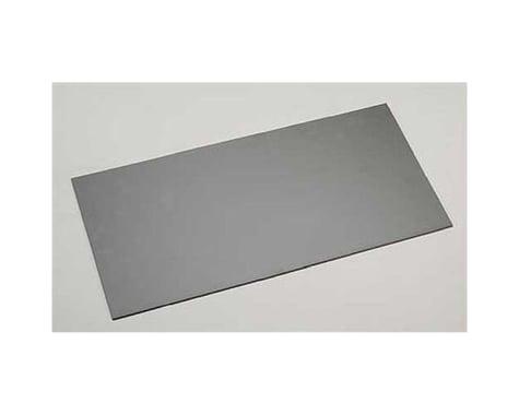 "Evergreen Scale Models Black Styrene Sheets, .08x6x12"""