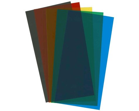 Evergreen Scale Models Assortment Transparent Sheets Set 6X12X.010 5 pc