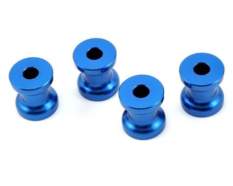 Evolution 20mm Gas Engine Mount Standoff Set (Blue) (4)