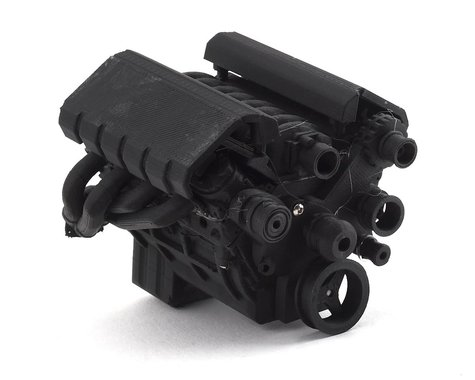 Exclusive RC Scale LS-1 Engine Kit (Fits 540 Motor) (Carbon Nylon)
