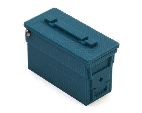 Exclusive RC Military Ammo Box w/Opening Lid (Green)