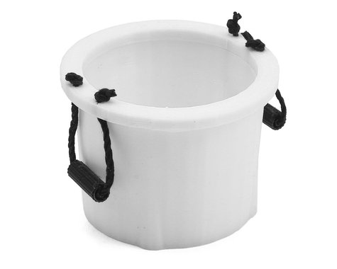 Exclusive RC Scale Yeti Bucket (White)