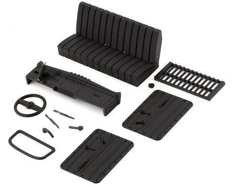 Exclusive RC Pro-Line Dodge Power Wagon Scale Accessory Kit (Carbon Nylon)
