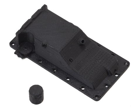 Exclusive RC RC4WD V8 LS Dry Sump Oil Pan w/Oil Filter