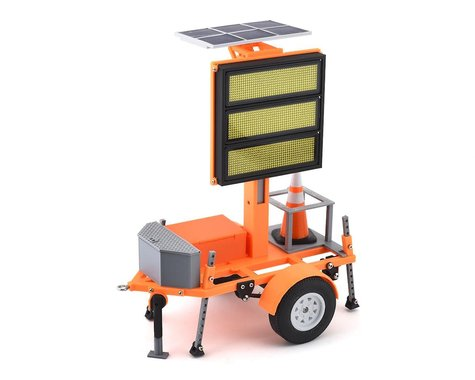 Exclusive RC Construction Sign Trailer