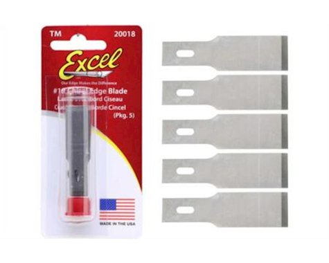 Excel #18 Blade Chisel Replacement Blades (5)
