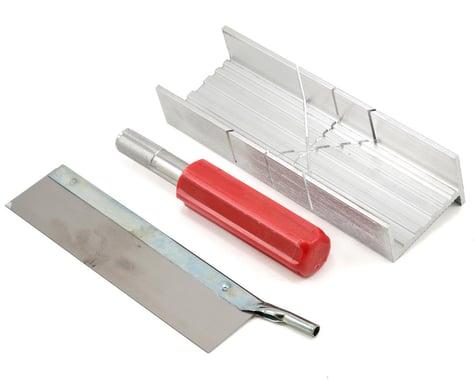 Excel Mitre Box w/Handle & Blades