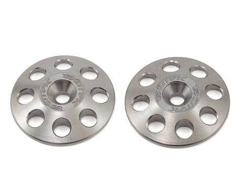 Exotek 22mm 1/8 XL Titanium Wing Buttons (2)