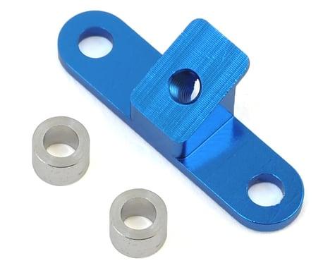 Exotek B6/B6D Aluminum Upper Steering Brace (Blue)