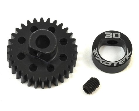Exotek Flite 48P POM Pinion Gear w/Alloy Collar (3.17mm Bore) (30T)
