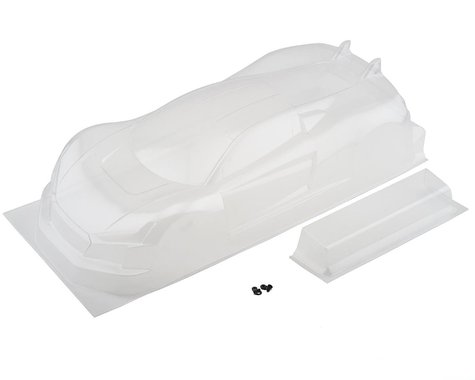 Exotek 190mm USGT R·Tek 1/10 Touring Car Sedan Body w/Wing (Clear)
