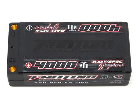 Fantom Pro Series MaxV-SPEC Shorty 2S LiPo 100C Battery (7.4V/4000mAh)