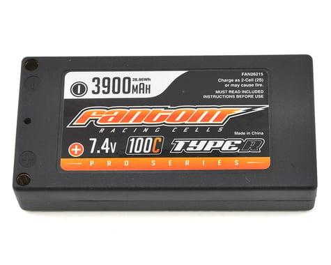 Fantom Pro Series Type-R Thin Shorty 2S LiPo 100C Battery (7.4V/3900mAh)