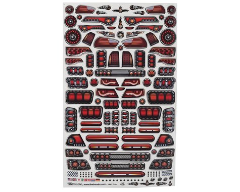 "Firebrand RC Tail Lights Multi-Fit Decal Sheet (8.5x14"")"