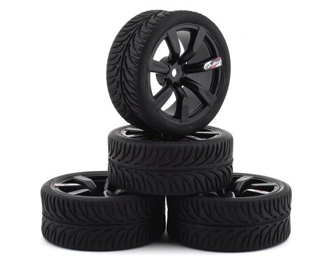 Firebrand RC Shanx RT3 Pre-Mounted On-Road Tires (4) (Black)