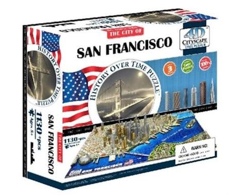 4D Cityscape San Francisco, USA 4D Cityscape Timeline Puzzle (1