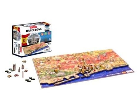 4D Cityscape Barcelona, Spain 4D Cityscape Timeline Puzzle (110