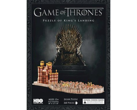 4D Cityscape 3D Game of Thrones Kings Landing