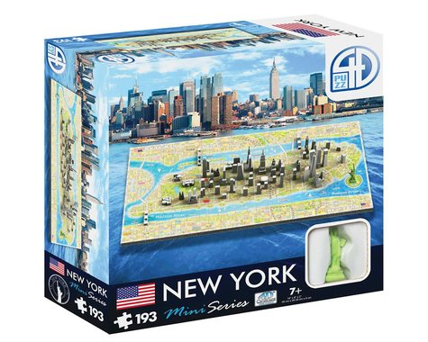 4D Cityscape 4D Mini New York 193pcs