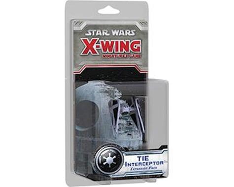 Fantasy Flight Games Fantasy Flight Star Wars X-Wing Game: TIE Interceptor Expansion Pack