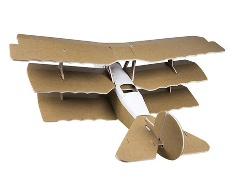 Flite Test Mighty Mini DR1 Triplane Electric Airplane Kit (736mm)
