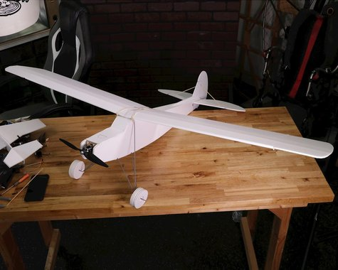 "Flite Test Simple Storch Speed Build ""Maker Foam"" Electric Airplane Kit (1460mm)"