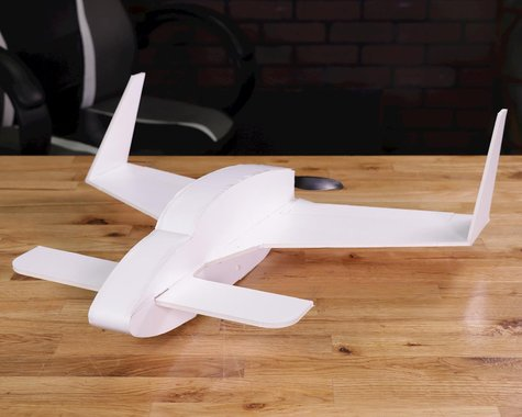 "Flite Test LongEZ ""Maker Foam"" Electric Airplane Kit (483mm)"
