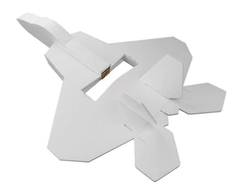 """Flite Test Mini F-22 Raptor """"Maker Foam"""" Electric Airplane Kit (508mm)"""